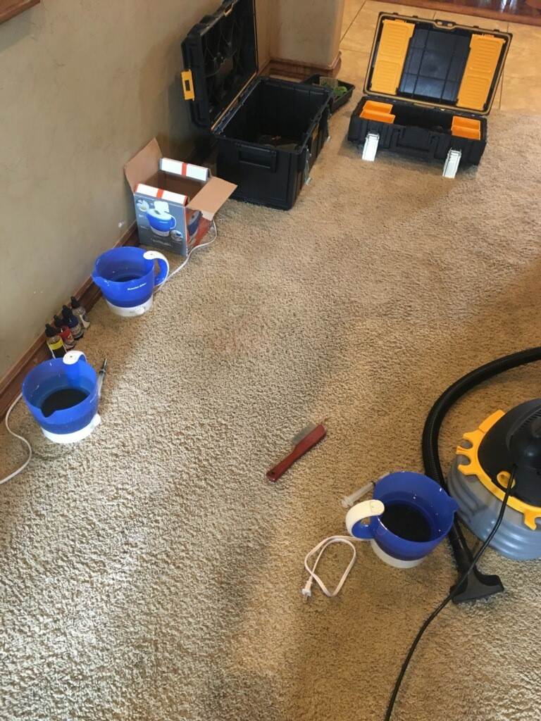 Bleach Spot Repair in Edmond, OK