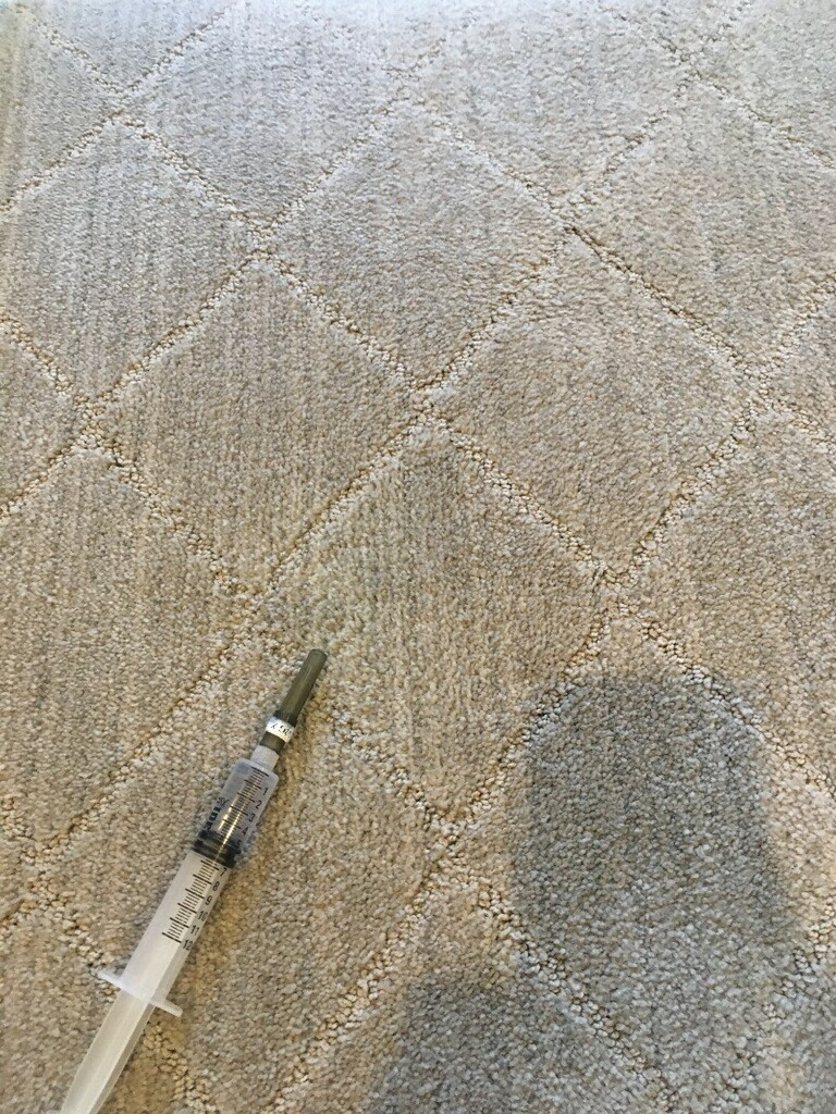 After - Bleach Spot Repair in Nichols Hills, OK