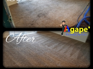 Before & After Carpet Cleaning in Oklahoma City, OK